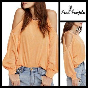 We the Free People Chill Out Cold Shoulder Top NWT